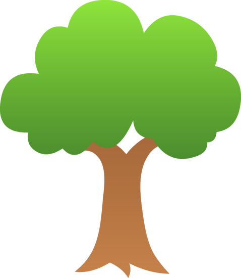 Cute Little Green Tree