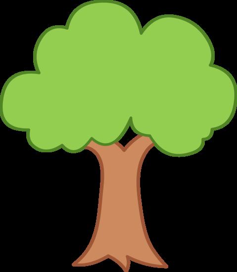 Simple Green Tree Design
