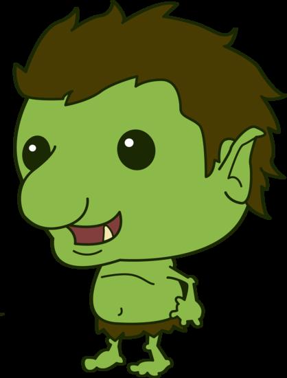 Funny Little Troll
