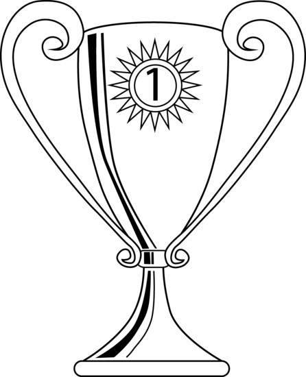 coloring pages trophy - photo#3