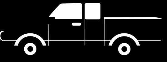 Black Pickup Truck Silhouette