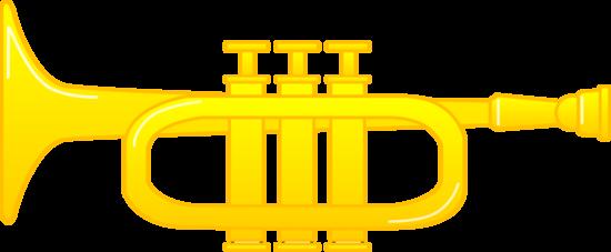 Brass Trumpet Illustration