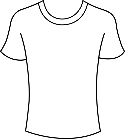 Mens T-Shirt Template