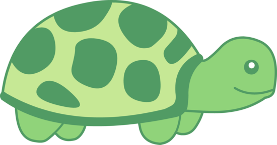 Little Green Turtle Clip Art