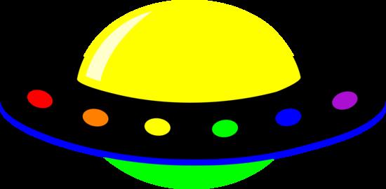 Psychedelic Alien Space Craft