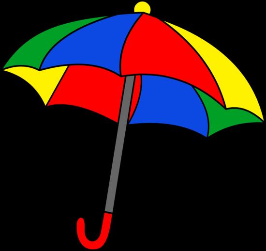 rainbow umbrella clip art - photo #4