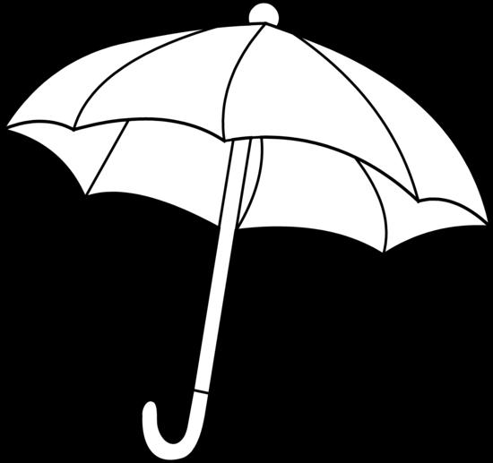 Umbrella Coloring Page - Free Clip Art
