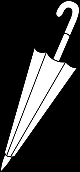 Line Drawing Umbrella : Closed umbrella line art free clip