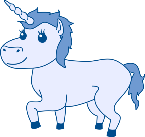Blue Unicorn Design