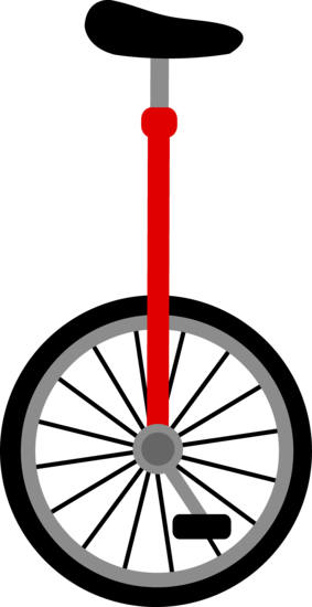 Red Unicycle Design