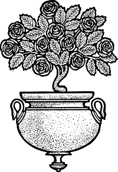 Vintage Roses Decoration