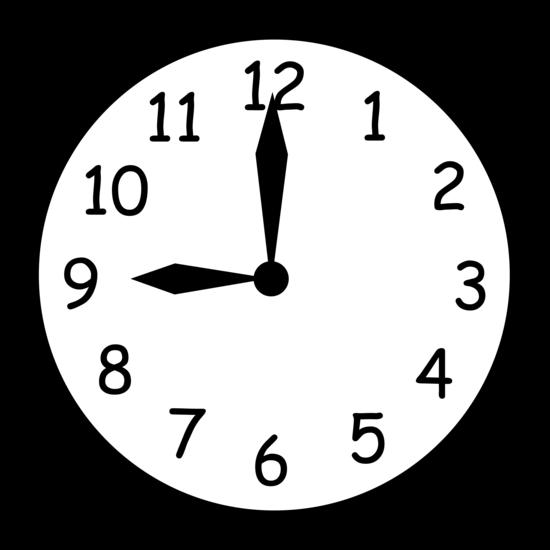 clipart 8 o'clock - photo #8