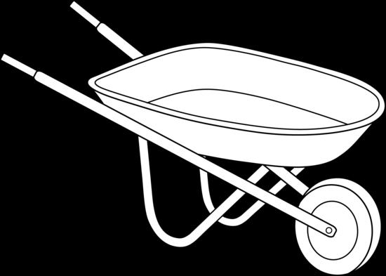 Wheelbarrow Black And ...