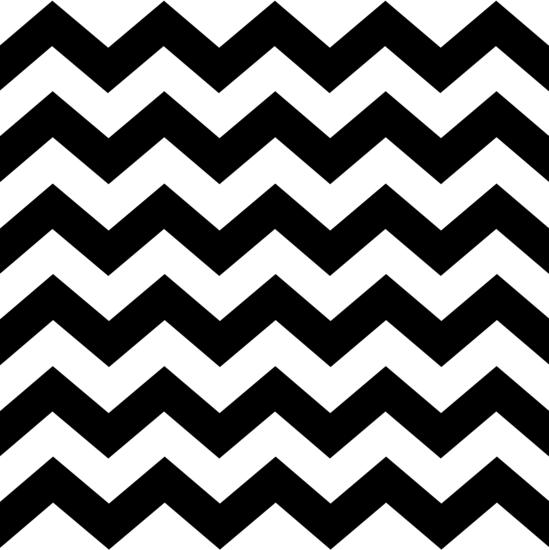 Black and White Zig Zag Pattern