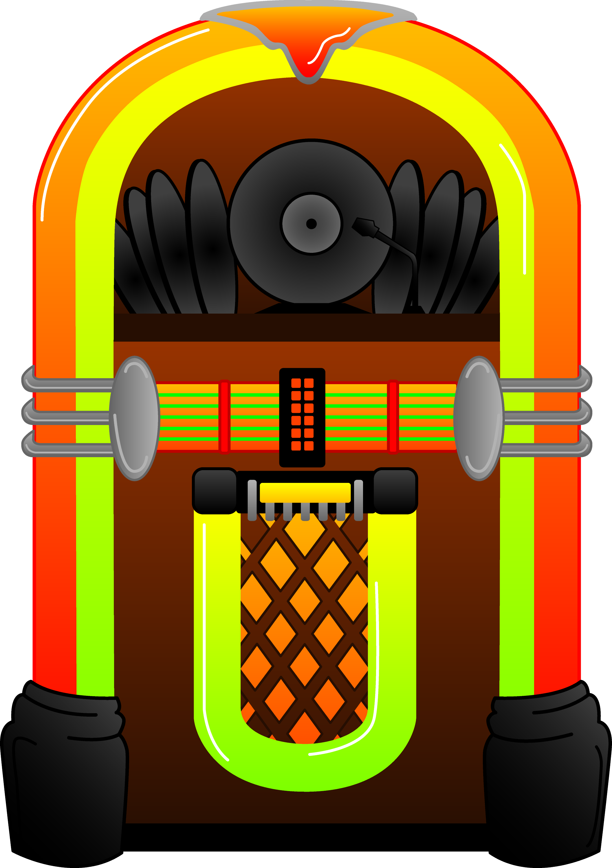 Line Art Jukebox : Image gallery jukebox clip art