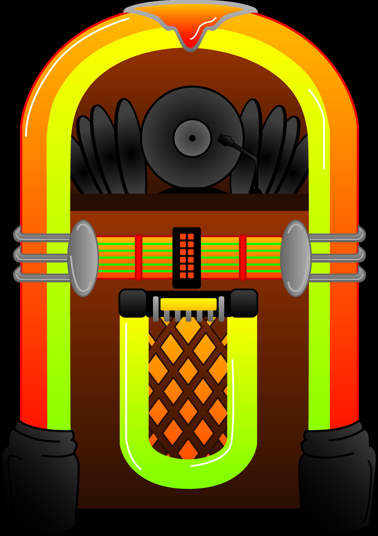 Colorful Jukebox Design