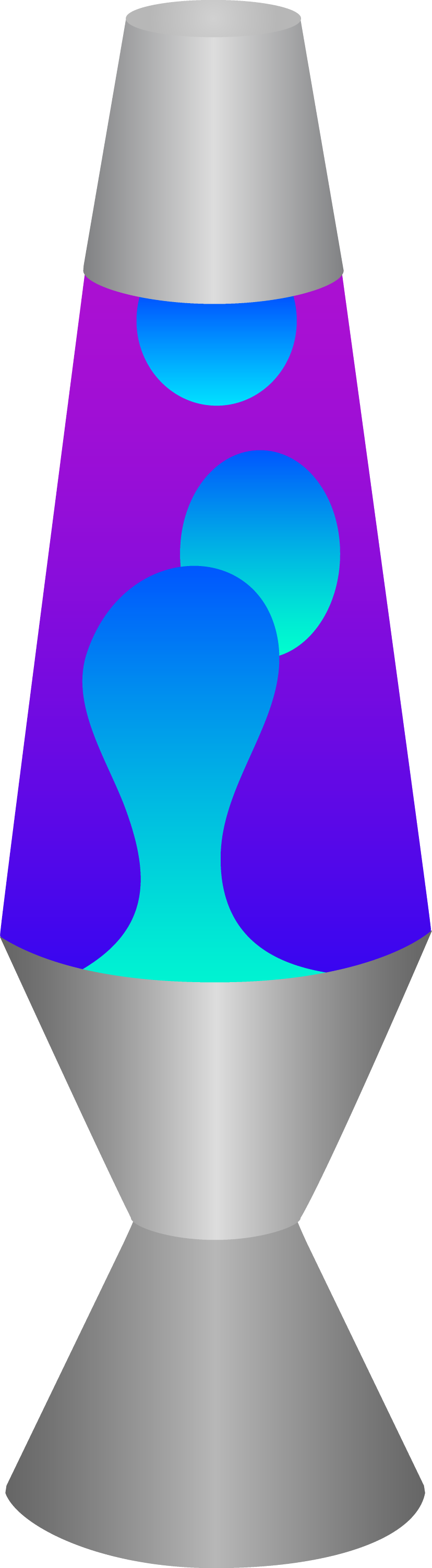 lava lamp drawing. blue and purple lava lamp drawing