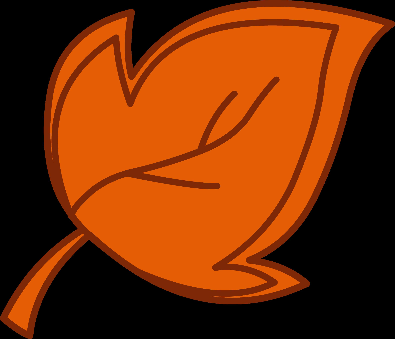 orange leaf clip art - photo #35