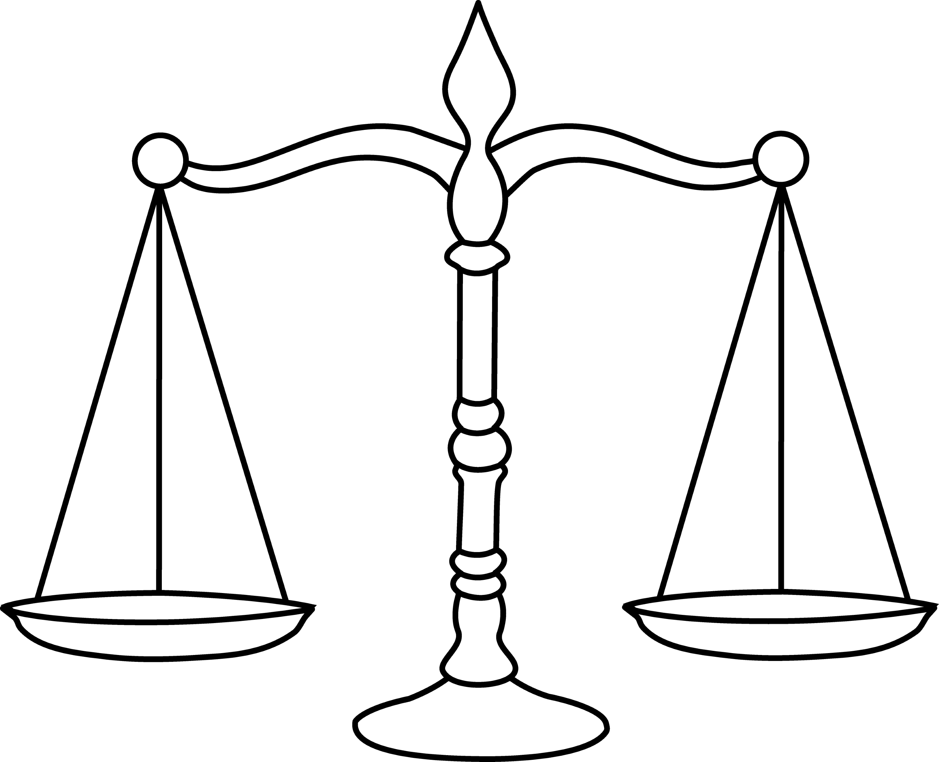 legal scales clipart - photo #24
