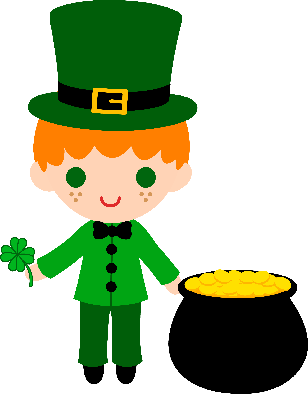 Uncategorized Leprechaun Kids leprechaun boy with pot of gold free clip art little boy