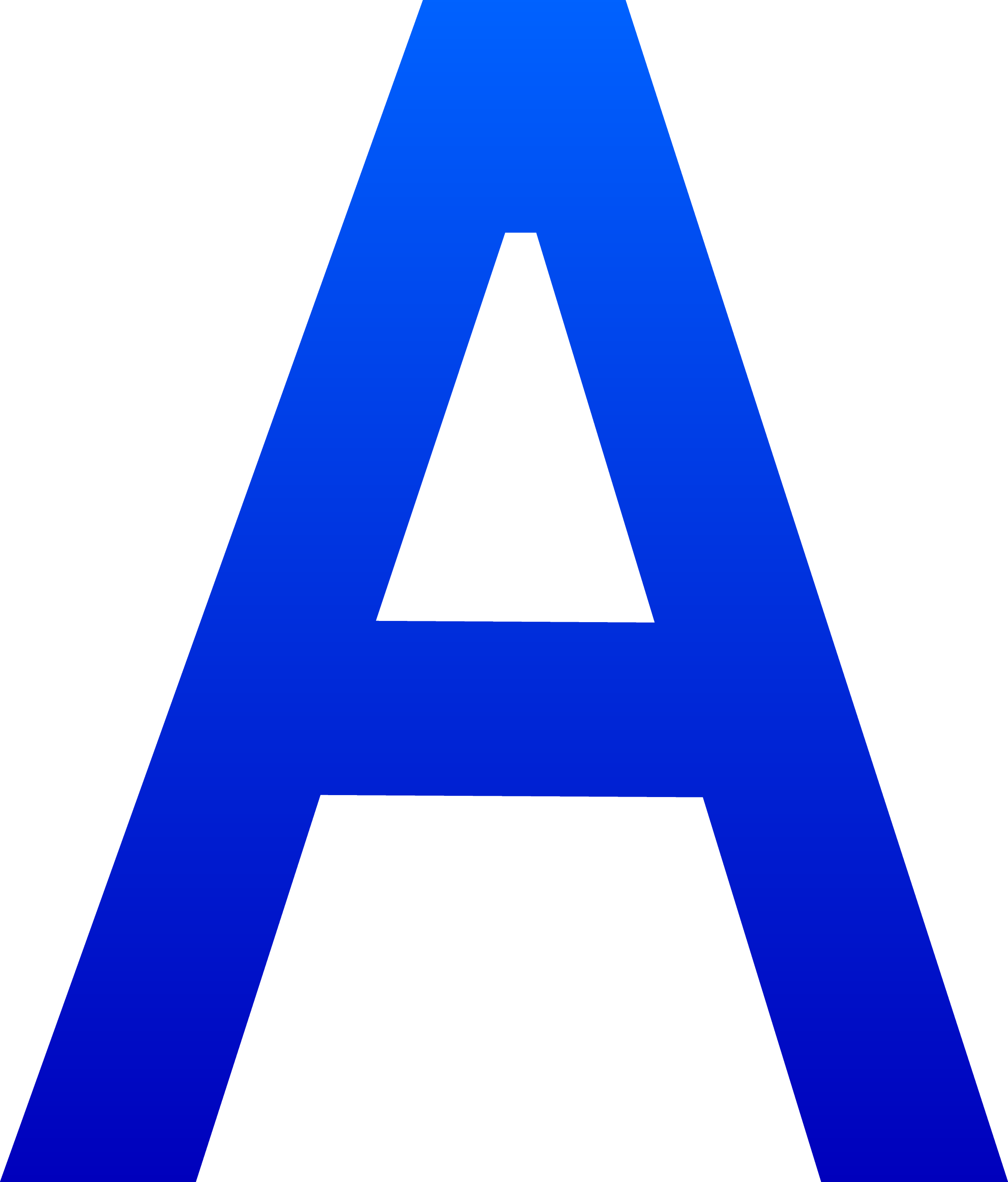 The Letter A Free Clip Art