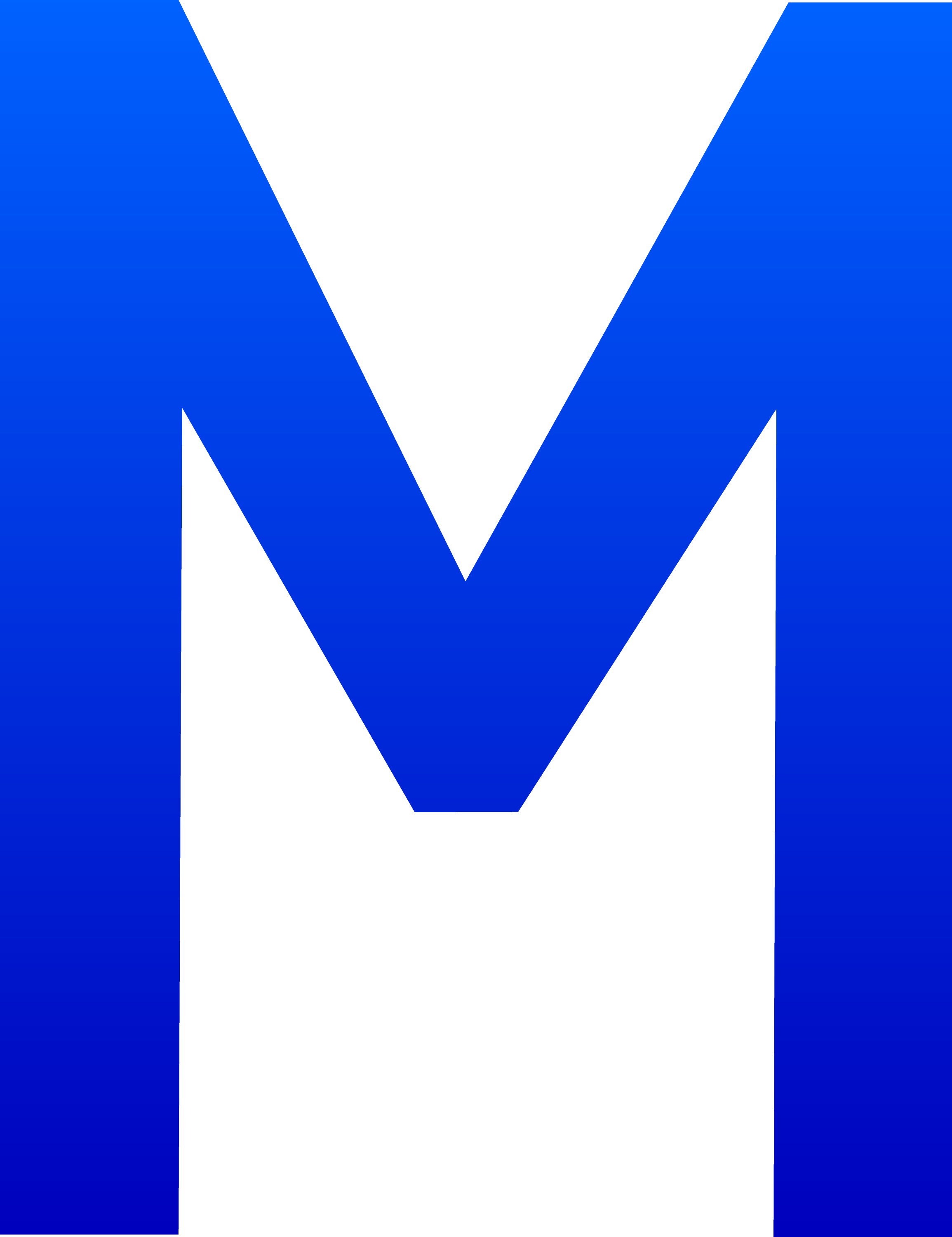 The Letter M - Free Clip Art