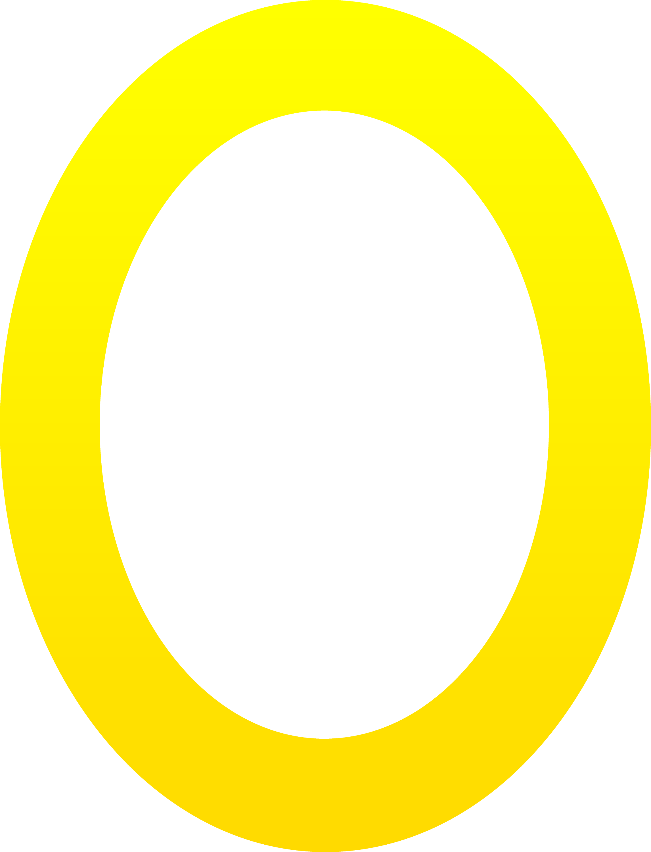 Letter O Clip Art The letter o - free clip art