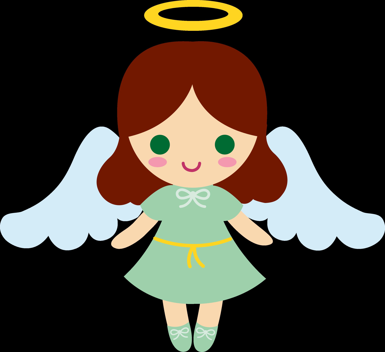 Little Girl Angel Clip Art