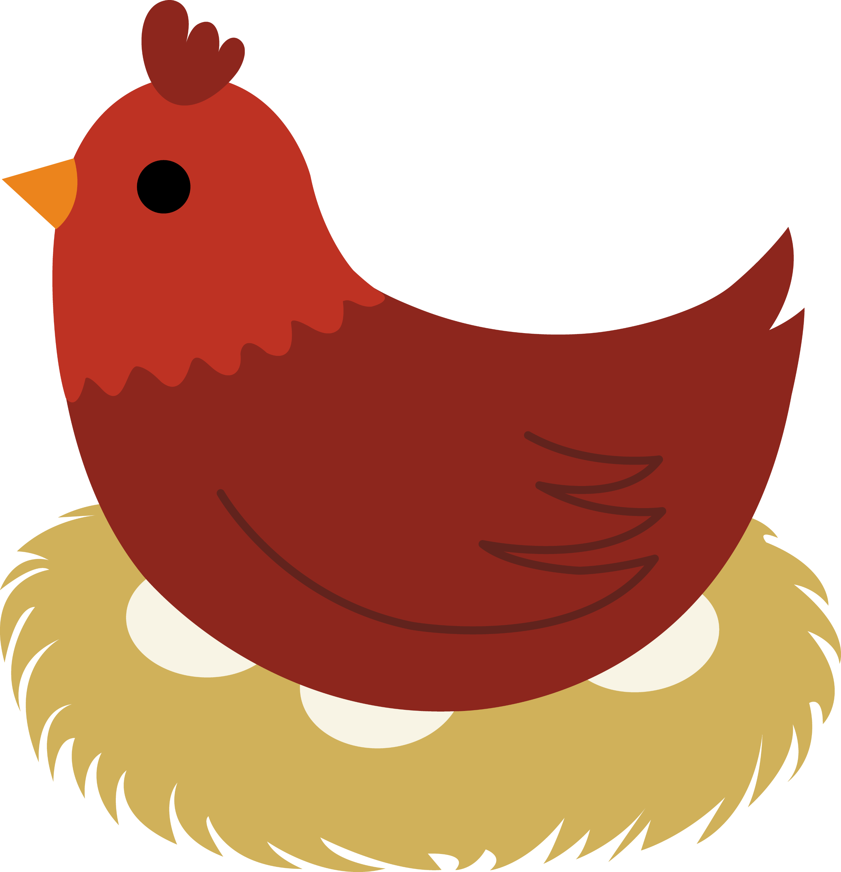 clipart of hen - photo #10