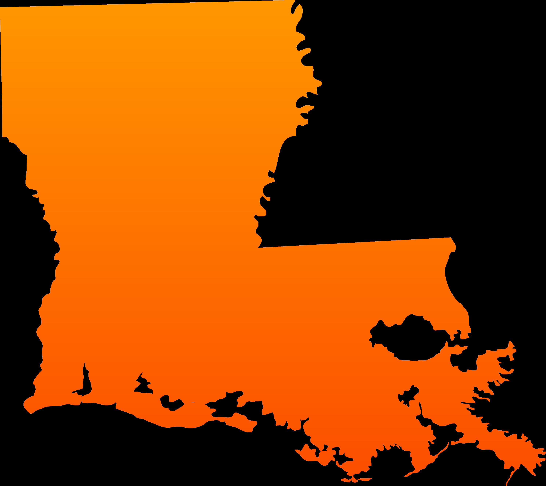 Louisiana State Design - Free Clip Art