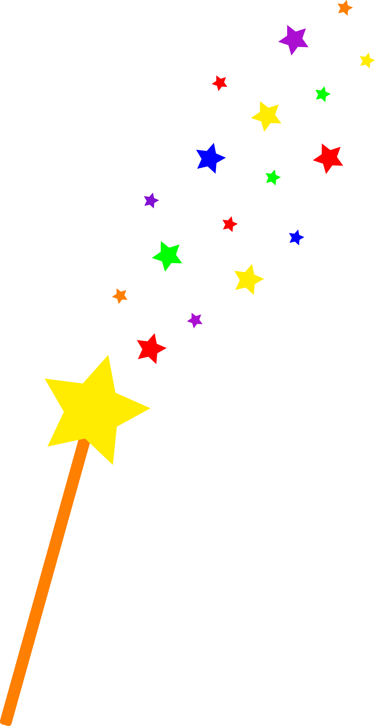 starry magic wand free clip art rh sweetclipart com magic wand clipart black and white magic hat and wand clip art