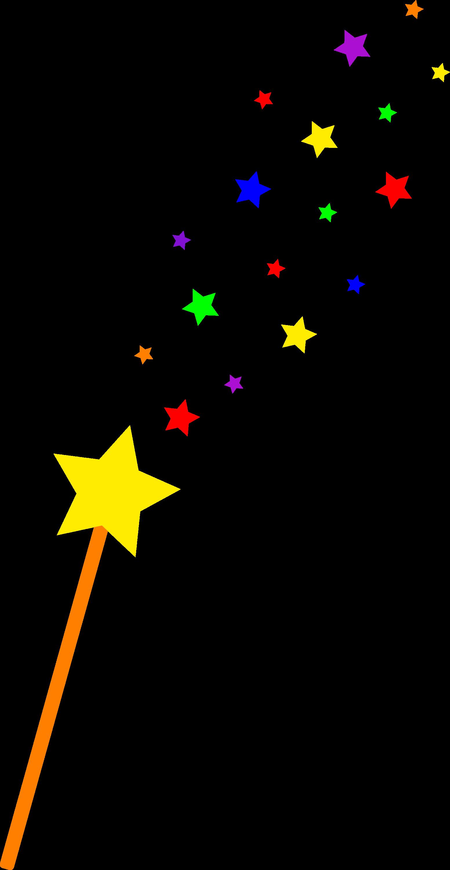 starry magic wand free clip art rh sweetclipart com  harry potter magic wand clipart