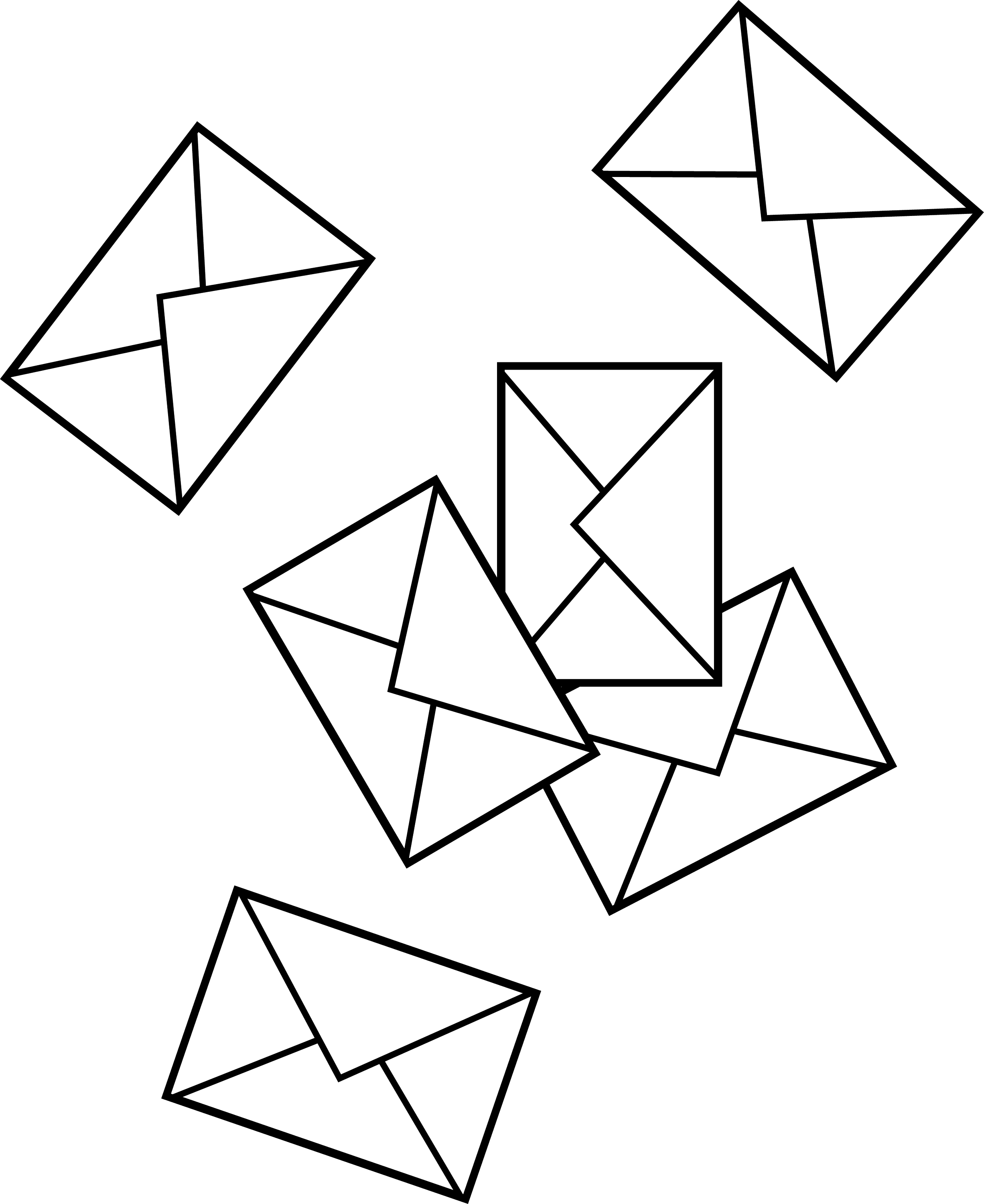 Suggestions Online | Images of Envelope Clipart Black And White