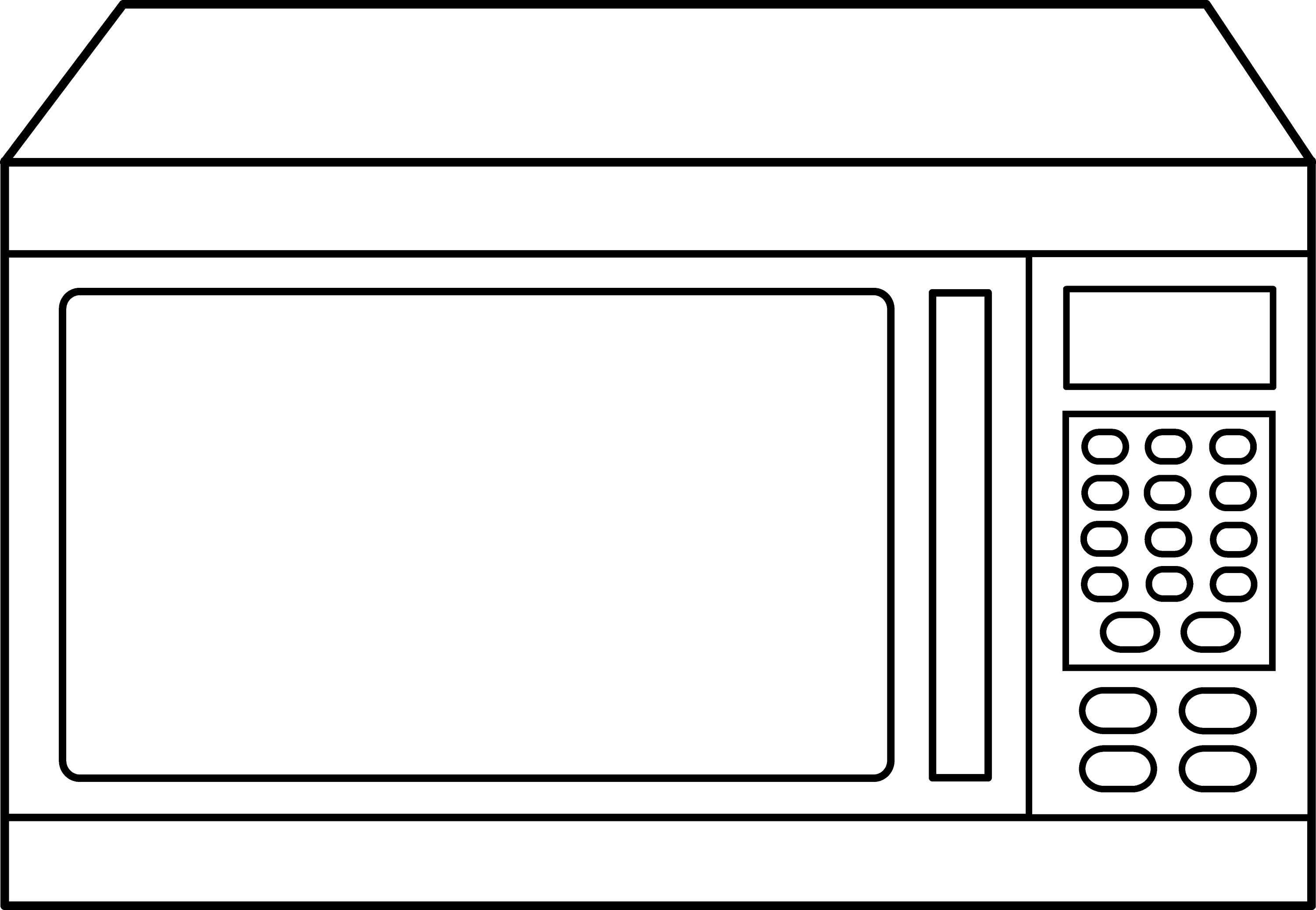 Microwave Oven Outline