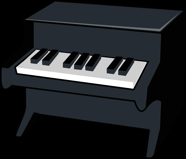 miniature piano vector illustration free clip art rh sweetclipart com piano clip art free piano clip art free download