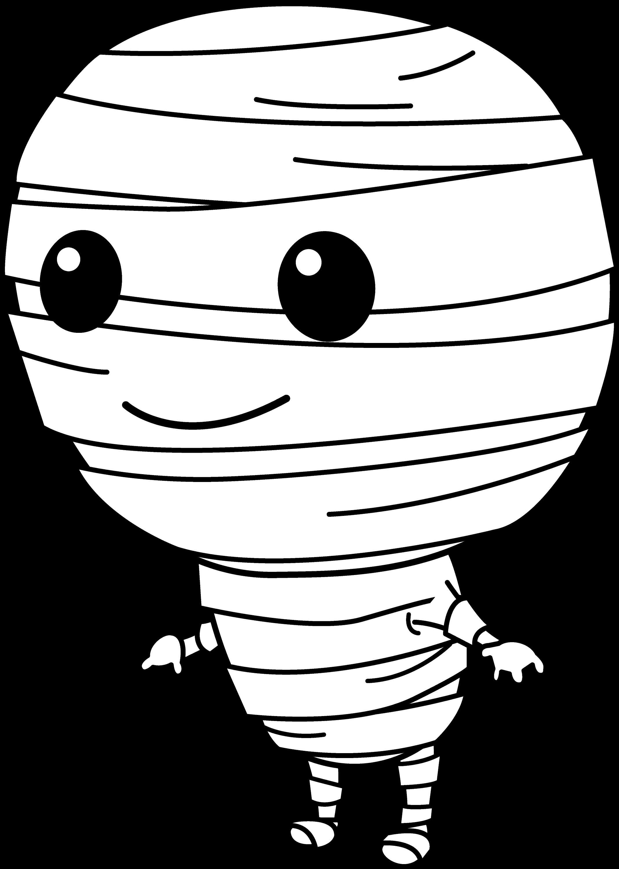 free halloween mummy clipart - photo #8