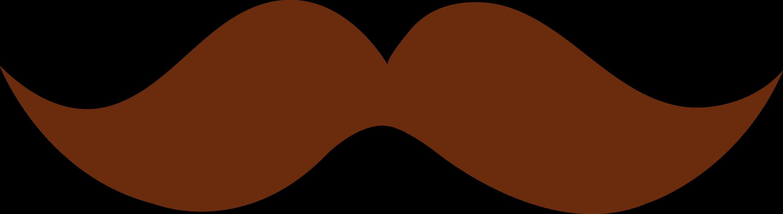 brown moustache design free clip art rh sweetclipart com mustache clip art free mustache clip art images
