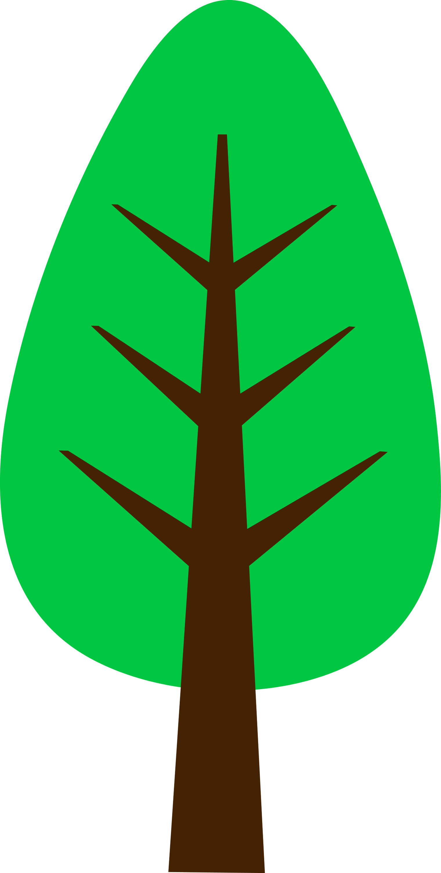Little green tree logo design