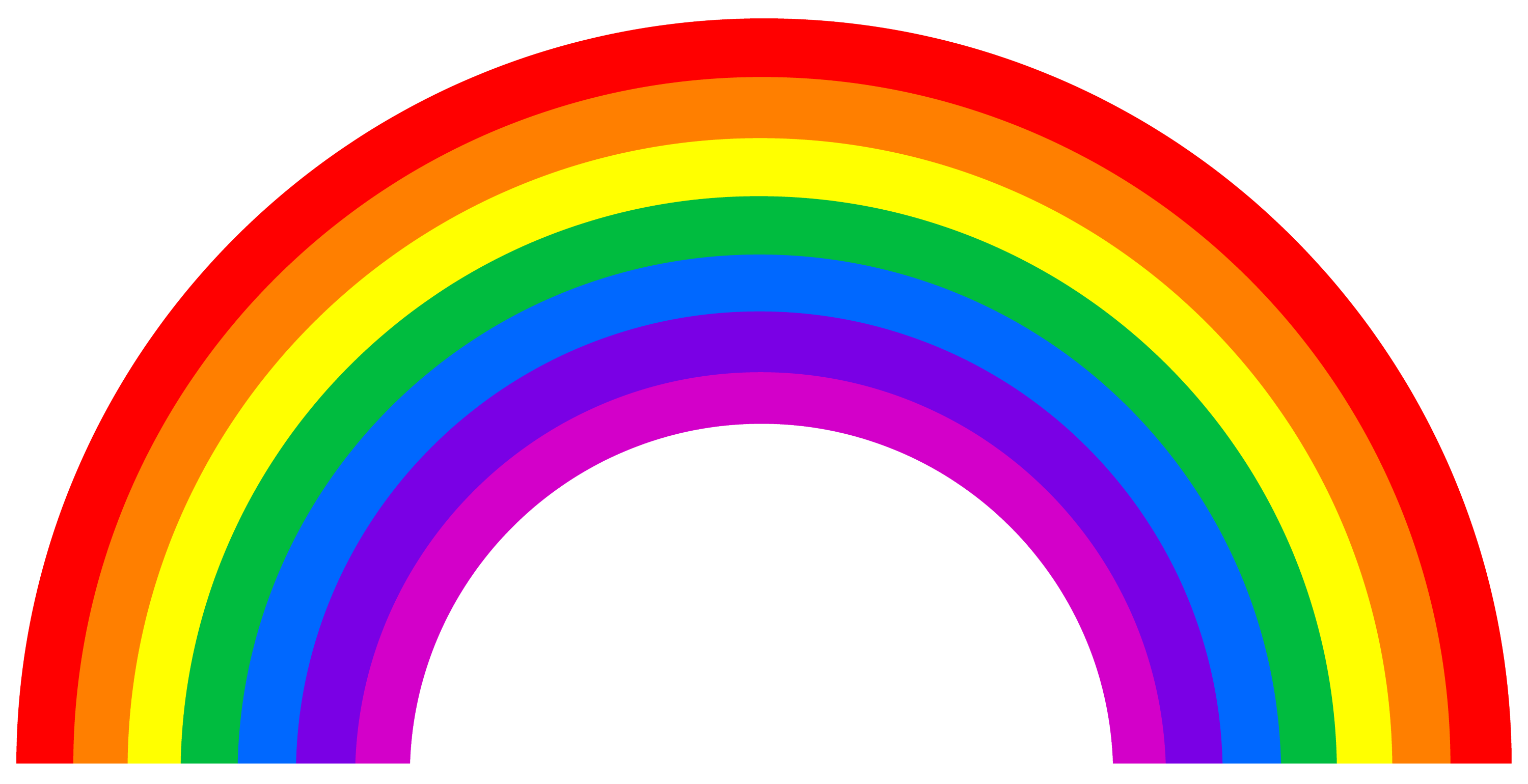 It is a graphic of Remarkable Free Printable Rainbow