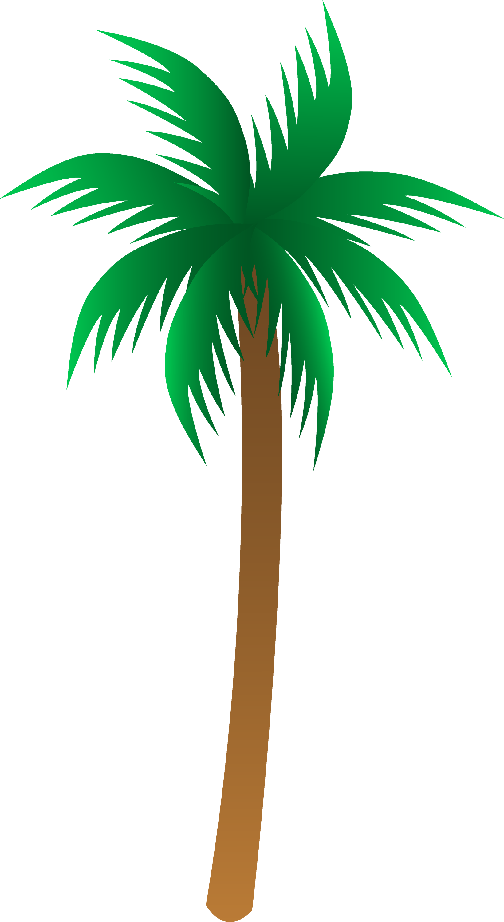palm tree clip art-#20