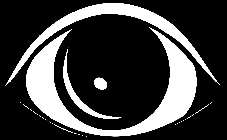 Simple Black Eye Design