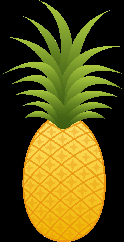 Pineapple Fruit - Free Clip Art