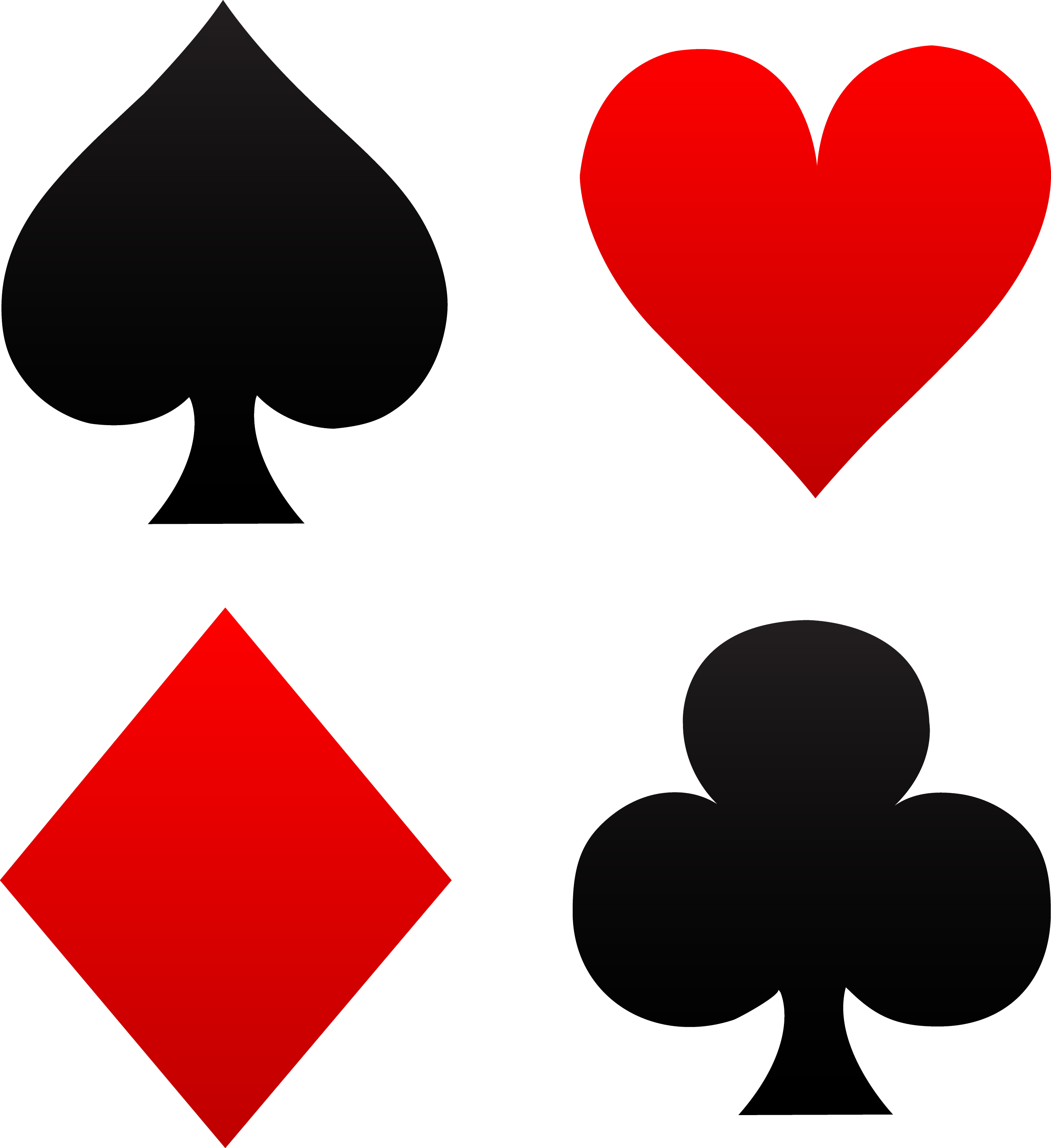 diamond club stock photo heart black on difference card background red and poker