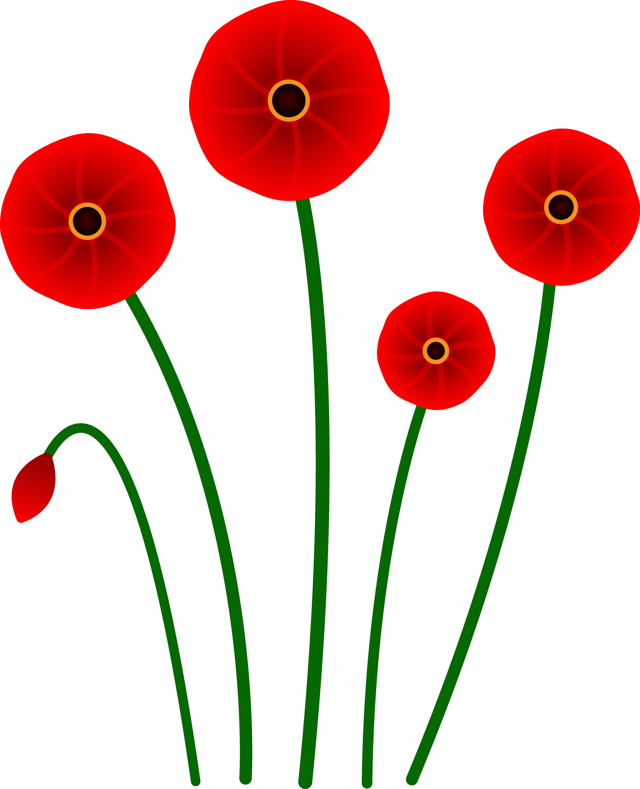 Clip Art Poppy Clip Art red poppy flowers free clip art poppies