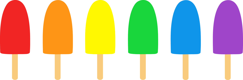 Simple Popsicles Illustration