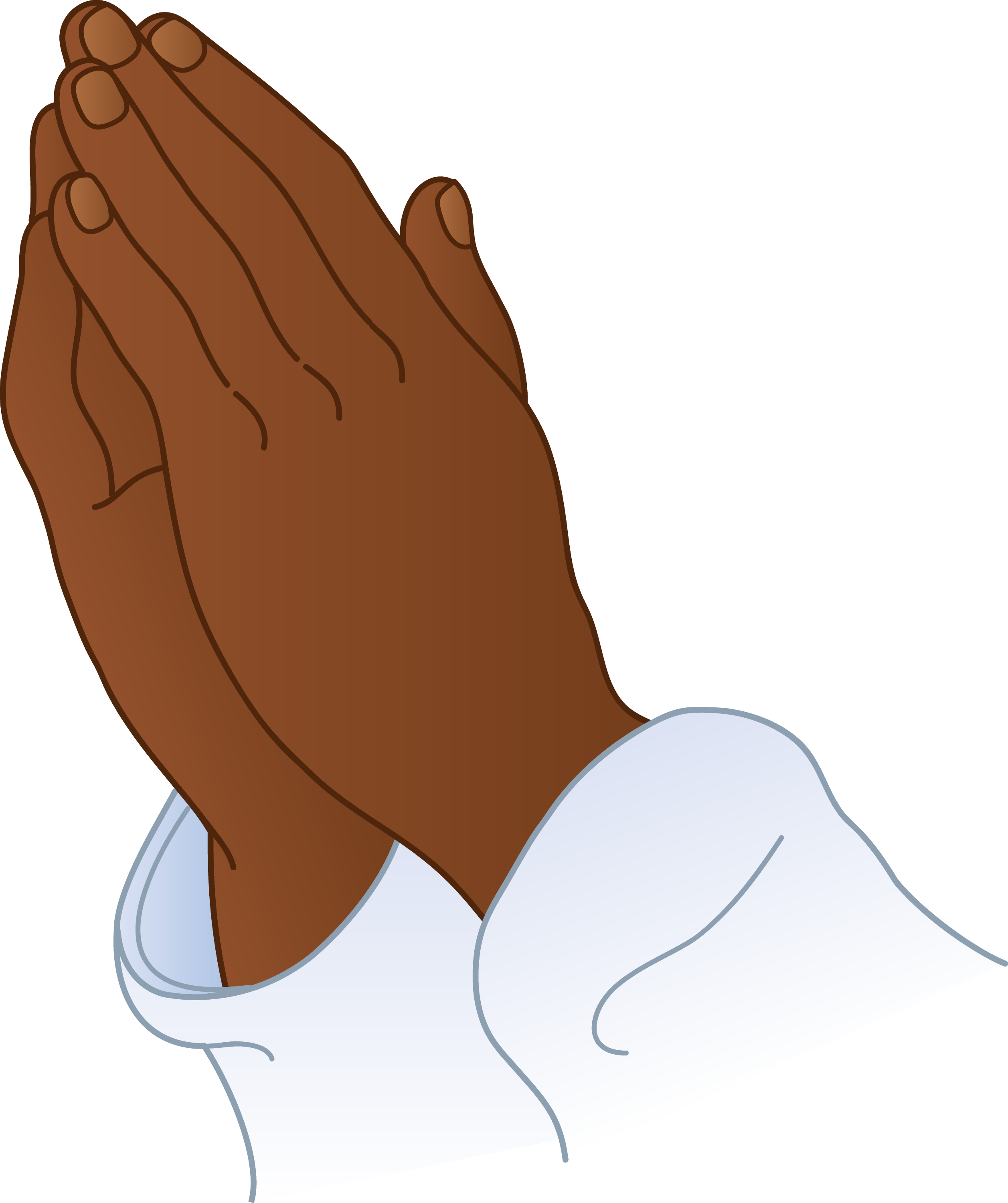 praying hands 2 free clip art