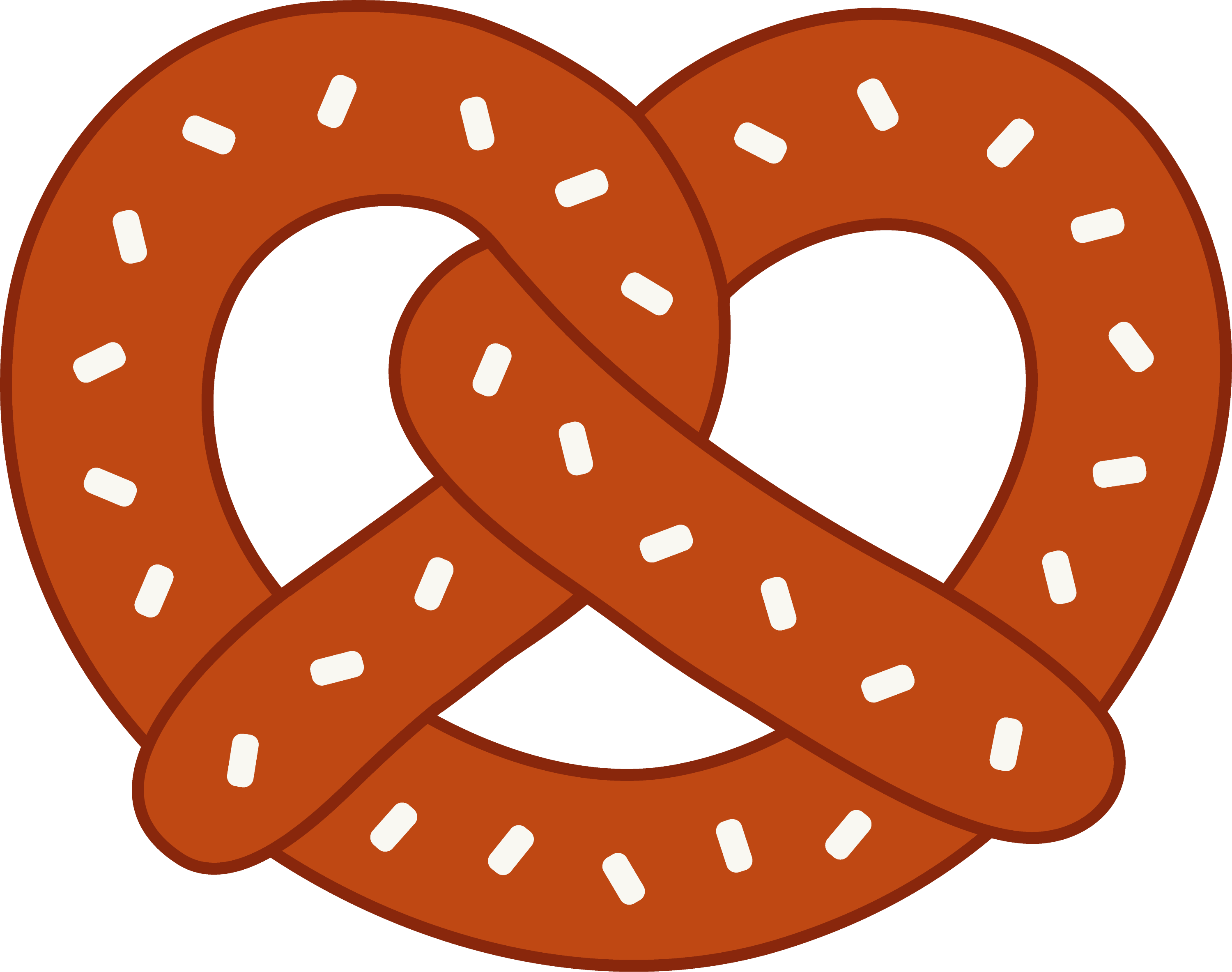 ... option because my document isn t very large pretzel clipart came from