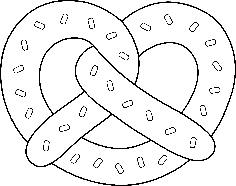 Clip Art Pretzel Clip Art soft pretzel line art free clip outline