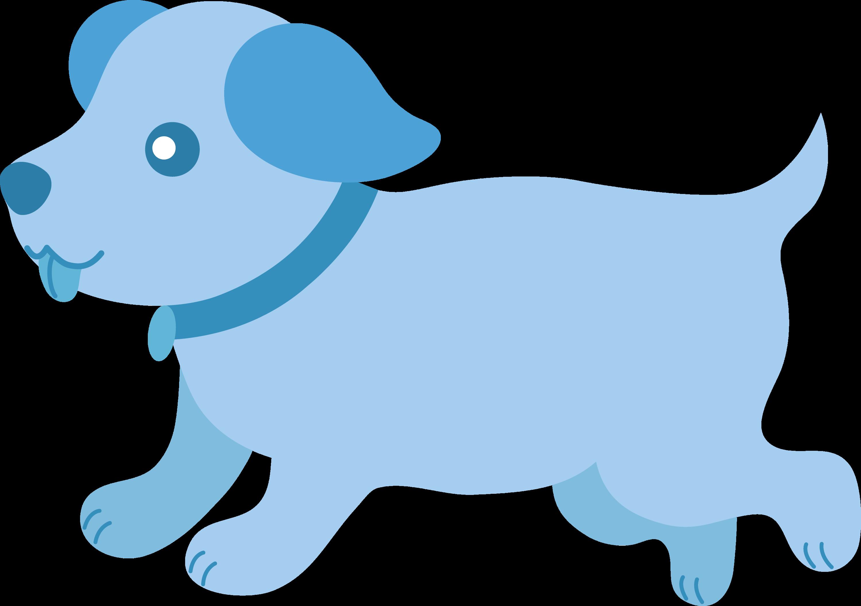 cute blue puppy running free clip art rh sweetclipart com cute puppy clipart images cute puppy clipart images