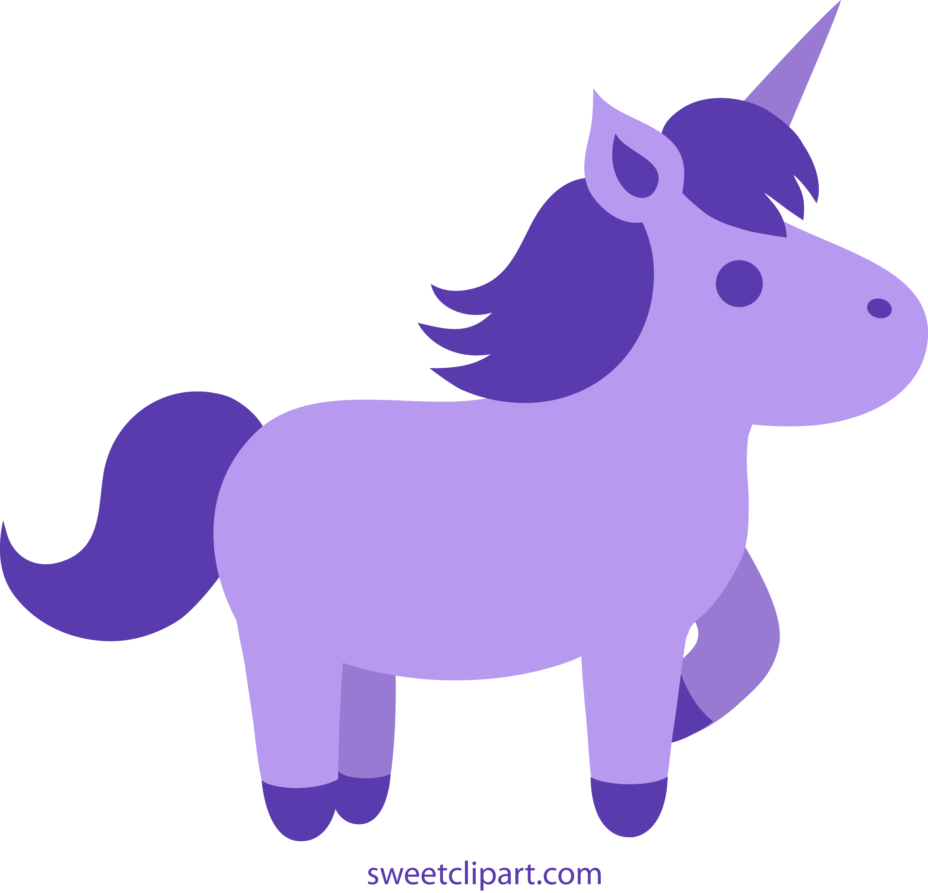 PINK & GOLD UNICORN Clipart Commercial Use Clip Art Purple and | Etsy